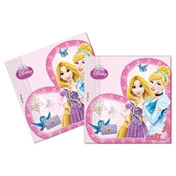 Party servítky - Disney Princess 20 ks