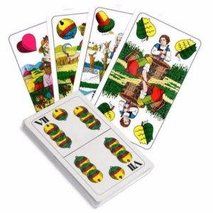 hracie karty sedmové