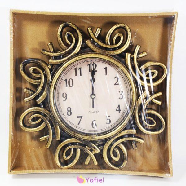 Krásne dekoračné vintage nástenné hodiny na baterky. Ozdobia obývačku vo vašom dome, či kanceláriu. Starožitný vzhľad