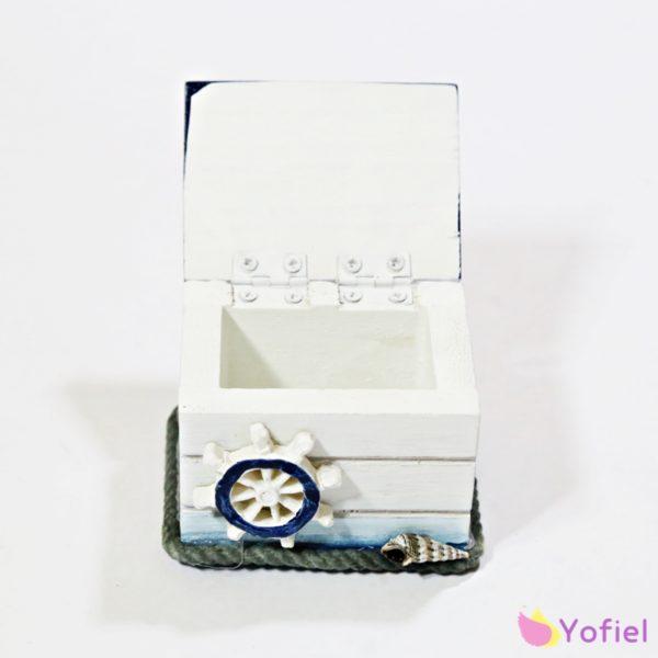 Mini námornícka šperkovnica s kotvou
