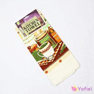 Kuchynská utierka - káva je nie len praktická, ale aj krásna svojím vzorom. Tento doplnok určite nesmie chýbať do vašej kuchyne.
