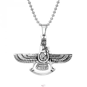 Náhrdelník Orol - chirurgická oceľ. Orol je považovaný za symbol odvahy, sily a bojovnosti.