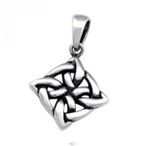 Strieborný 925 Keltský prívesok - amulet