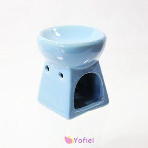 Keramická aromalampa modrá je skvelá pre použitie s vonnými olejmi alebo vonnými voskami. Vďaka krásnej keramike je to tiež atraktívna dekorácia.