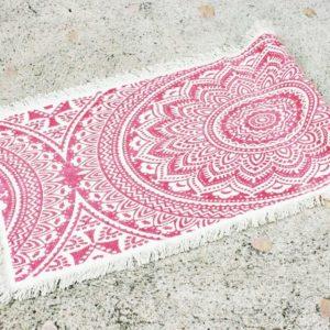 Vintage koberec MANDALA so strapcami
