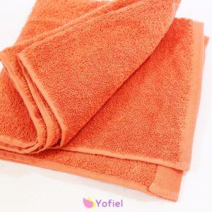 Bavlnený uterák 100 x 50 cm Oranžová príjemná a krásna farba Materiál: bavlna