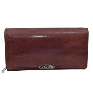 Dámska kožená peňaženka MERCUCIO - koňak Peňaženka, do ktorej sa zmestia všetky vaše karty.Členenie peňaženky: 12 priehradiek nakreditné karty