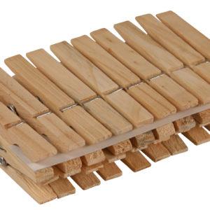 Bambusové štipce na prádlo 20 ks Materiál: bambusové drevo