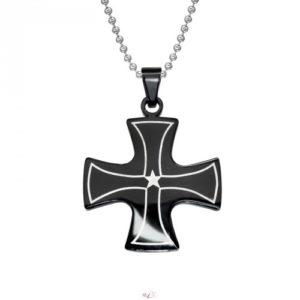 Kríž pánsky náhrdelník z chirurgickej ocele