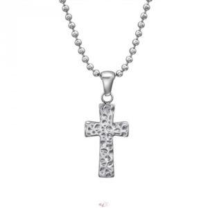 Kríž náhrdelník z chirurgickej ocele