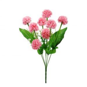 Kytica - umelé kvety - ružové