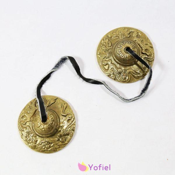 Tibetské meditačné činelky sa používajú pri meditáciách, modlitbách. Signalizujú koniec meditácie.Ich zvuk lieči, uľavuje psychickú záťaž, stres, smútok