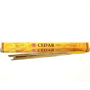 HEM vonné tyčinky Céder 20ks vyrobené v Indii krásne prevoňajú každý priestor. V balení 20 kusov Jednoducho zapáľte špičku tyčinky