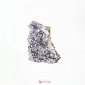 Drúza Ametyst vŕtanýVhodný na využitie ako šperk či ako doplnok na dekorovanie. Účínky:Ametyst prináša svojmu nositeľovy trpezlivosť, pokoj a mier