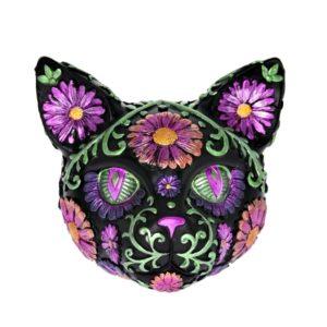 Pokladnička Magická mačka Pokladnička v tvare mačky. Maľované ornamenty robia túto pokladničku naozaj magickou.Pokladnička má dieru na vkladanie mincí