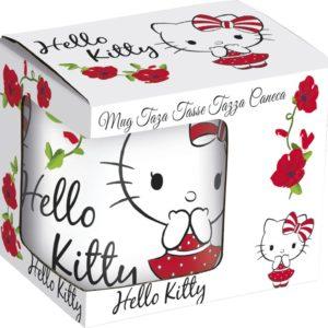 Keramický hrnček Hello Kitty 2,5DL Keramický hrnček balený v darčekovej krabičke.Materiál: keramika Objem: 2,5 DL