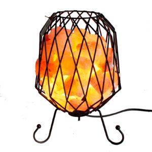Industriálna soľná lampa Touto lampou eliminujete negatívne nabité ióny vo vzduchu a tým sa vyhnete fyzickej a duševnej zátaži, ktorá je spôsobená smogom