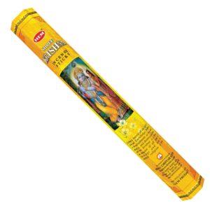 HEM vonné tyčinky Krishna 20 ksTradičné vonné tyčinky vyrobené v Indii krásne prevoňajú každý priestor. Jednoducho zapáľte špičku tyčinky