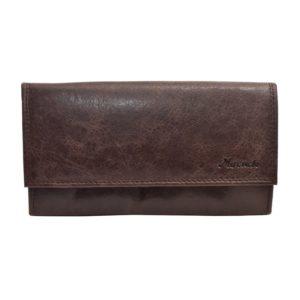 Kožená kasírka - čašnícka peňaženka Mercucio hnedá Peňaženka z pravej kože vhodná pre čašníkov alebo kuriérov.