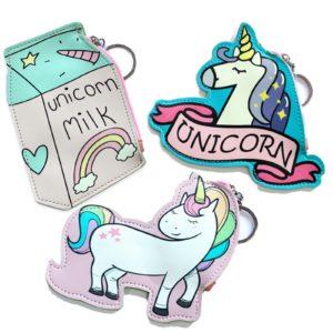 Peňaženka - mincovnička Jednorožec - Unicorn Zábavna peňaženka s kľúčenkou - na výber z 3 motívov.
