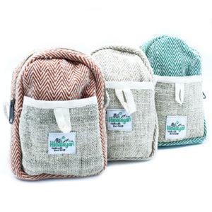 Konopná taška so šnúrkou Praktická taška z konope a bavlny, spracovaná s dôrazom na detail. Šetrná k životnému prostrediu. Vyrobená v Katmandu v Nepále.