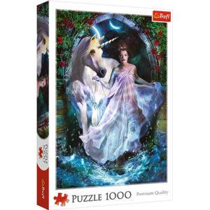 Fantasy puzzle Trefl - Jednorožec 1000 dielov Nádherné puzzle pre milovníkov fantasy motívov.
