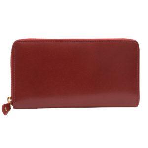 Dámska kožená peňaženka na zips Mercucio červená Tradičný listový štýl peňaženiek vystriedal nový trend - peračníkový štýl. Aj keď tento štýl uprednostňujú hlavne mladšie ročníky, takáto peňaženka sa nestratí vkabelke ani udám vo vyššom veku.